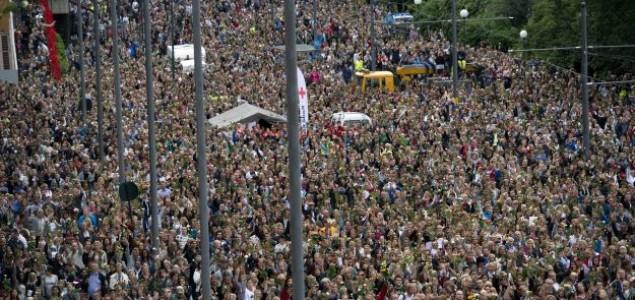 100.000 Norvežana odalo počast ubijenima