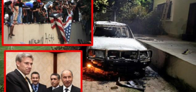 Ubijen američki veleposlanik u Libiji