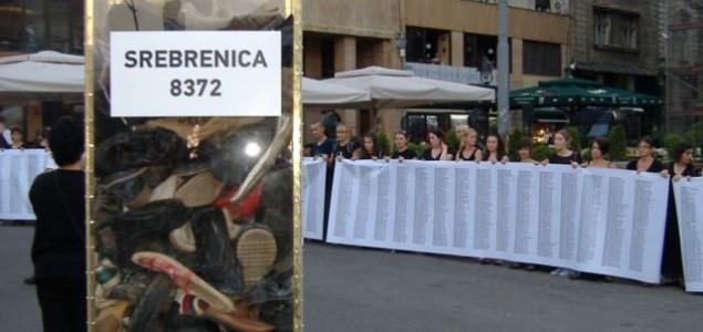 Performans u Beogradu: Za nezaborav genocida