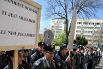 "Protest policije: ""Gospodine ministre, ti jesi Muhamed, ali nisi pegamber""-VIDEO"