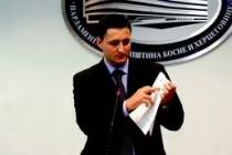 Dodik i Tihić smijenili Denisa Bećirovića