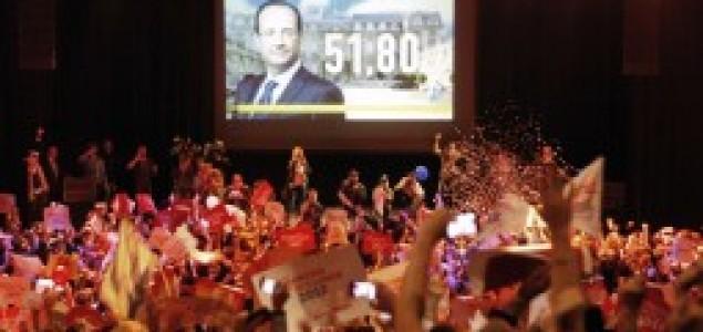 Predsjednički izbori u Francuskoj: Sarkozy telefonom čestitao Hollandeu