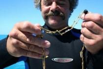 Tražio galiju iz 17. stoljeća, a pronašao zlatni lančić vrijedan 1,3 milijuna kuna