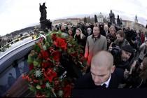 Posljednje putovanje  Vaclava Havela na Hradčane