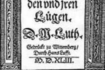 Martin Luter: O slobodi hrišćana