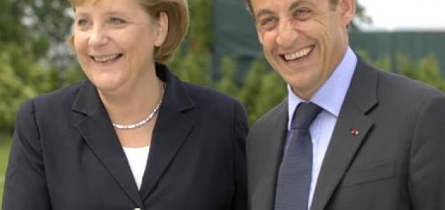 Sarkozy i Merkel: ruka ruku mije