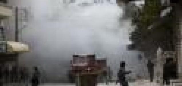 Assadova vojska minama priječi bijeg civila-VIDEO