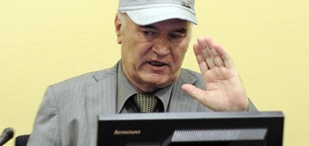 Ratko Mladić  pred Haškim tribunalom: Neću da čujem ni slovo optužnice