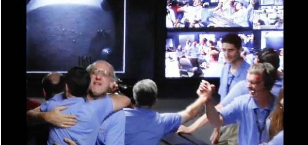 """NASA projekat: """"Curiosity"""" sleteo na Mars"""