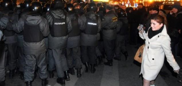 Postizborni neredi u Moskvi