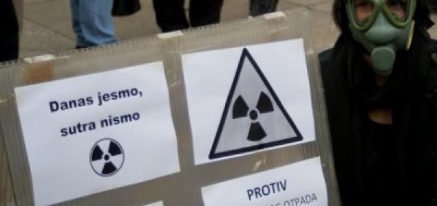 Ne želimo radioaktivni otpad u centru Zagreba!