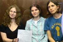 Pobjeda slobode: Članice Pussy Riot izlaze na slobodu prije Nove godine