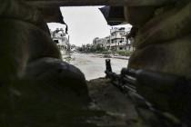 Udar koalicije predvođene SAD na snage sirijske vlade
