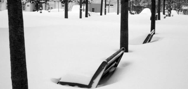 Snijeg proizveo kaos, ali i lijepu porciju medijske histerije