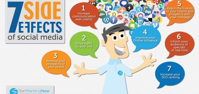 Ovo je sedam pozitivnih učinaka društvenih mreža
