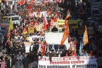 Europa na ulicama protiv mjera štednje!