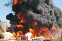 Požar u rafineriji : Počela evakuacija obližnjeg stanovništva, ima ozlijeđenih radnika-VIDEO