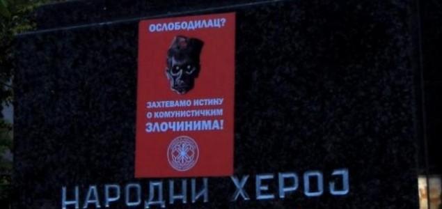 Divljanje fašista u Nišu: Oskrnavljeni antifašistički spomenici