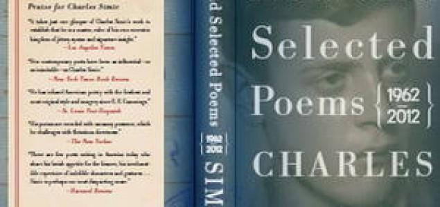 Izbor Simićeve poezije u SAD