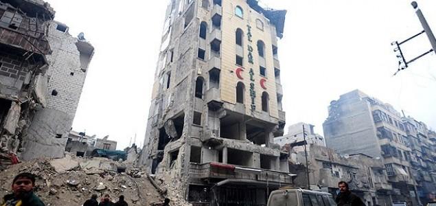 Sirijski Halep pretvoren ruševinu