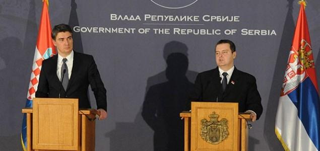 Završen prvi zvanični sastanak premijera Hrvatske i Srbije