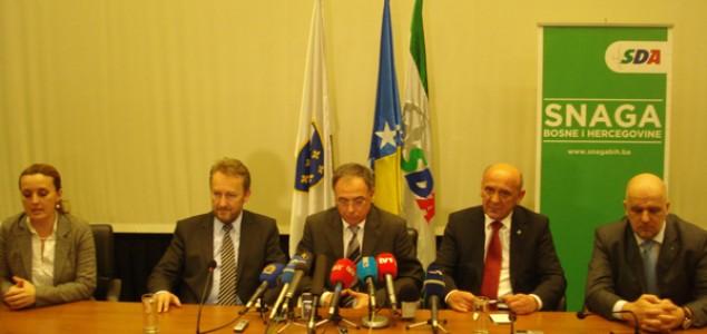 Održan Glavni odbor SDA: Tihić i Izetbegović odigrali neriješeno