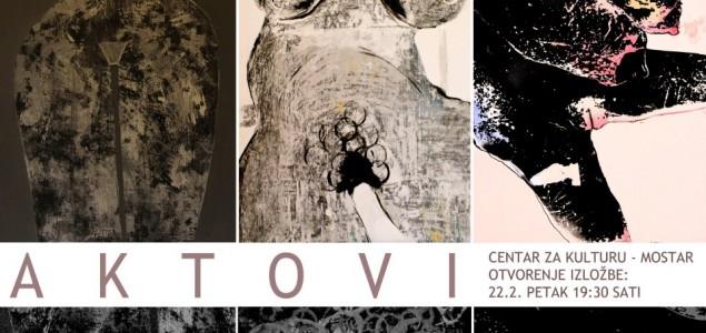 """Izložba """"Aktovi"""" u Centru za kulturu Mostar"""