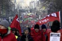 Preko 40,000 prosvjednika na ulicama Bruxellesa