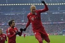 Bayern uz gol Robbena slomio Borussiju Dortmund