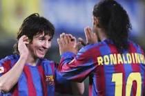 Ronaldinjo žali što nije više igrao sa Messijem