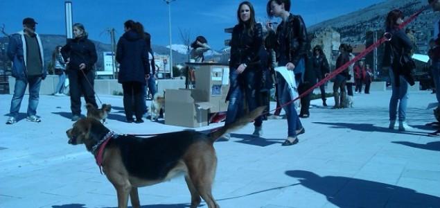 Mostarci održali mirni prosvjed za zaštitu i dobrobit životinja