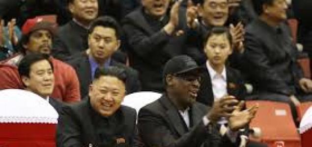 Dennis Rodman: Kim Jong-un mi je doživotni prijatelj