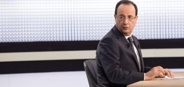 Francuski predsjednik u TV-intervjuu: Nevjerovatno optimistični monsieur Hollande