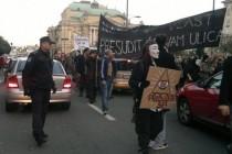 Prosvjedi u desetak gradova u Hrvatskoj, u Rijeci policija sramno tukla djevojke