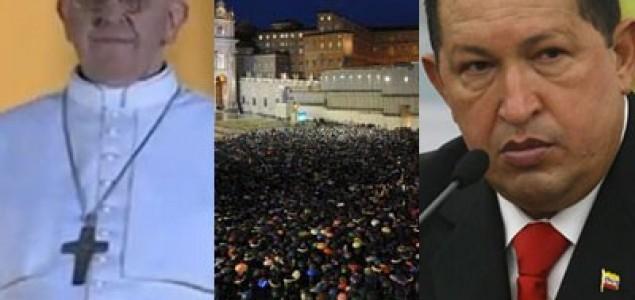 Chavez je kontroverzan a Papa nije?