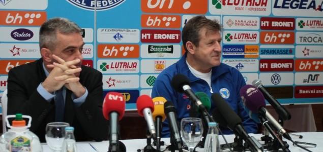 Sušić i Jagodić o pripremama za utakmicu