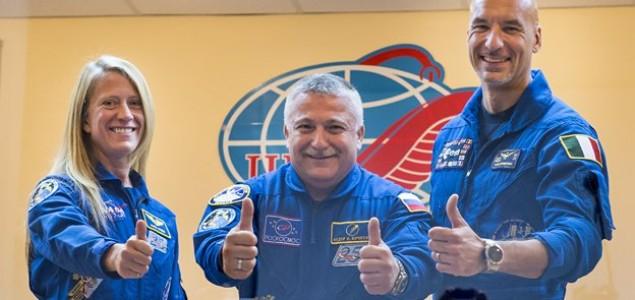 Astronaut Luca Parmitano spreman za misiju u svemir
