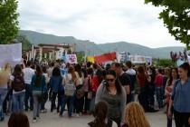 Održana akcija mostarskih srednjoškolaca 'I dalje želimo znati'