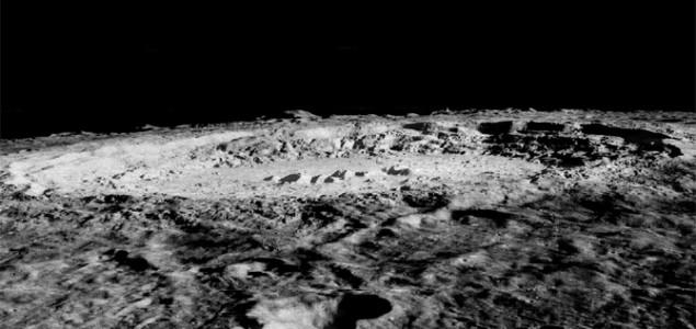 Inozemne krhotine pronađene u kraterima Mjeseca