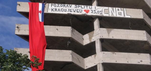 Velika poruka ljubavi i bratstva iz Mostara: Zastava SRBiH na ratnoj liniji razgraničenja
