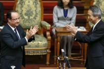 Francuski predsjednik Francois Hollande Japance zamijenio za Kineze