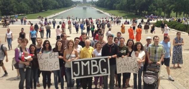"""Amerika uz demonstrante u Sarajevu: U Washingtonu održan skup podrške """"DC uz BiH za JMBG"""""""