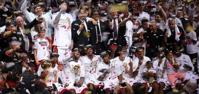Kralj James odveo Miami do nove titule NBA prvaka