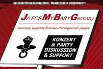 JMBG Njemačka: Manifestacija Solidarnosti