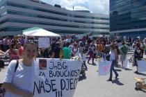 Zadnja poruka demonstranata uoči protesta: Ovo je skup ljubavi, tražimo primjenu Bonskih ovlasti