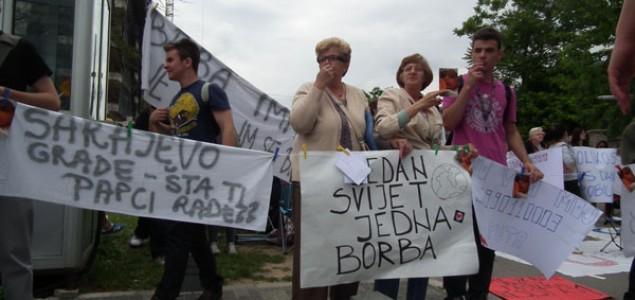 """Beograd uz Sarajevo: Na Kalemegdanu skup podrške  """"Svi smo mi Belmina"""""""