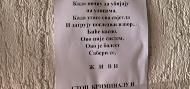 U Banjoj Luci plakati i leci protiv vlasti