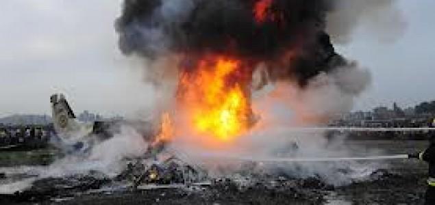 Somalija: Četvero mrtvih u padu etiopskog vojnog teretnog aviona
