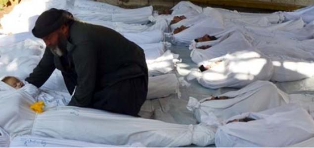 Zapad traži istragu o mogućem napadu hemijskim oružjem u Siriji