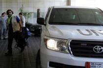 Inspektori UN-a na putu za Damask